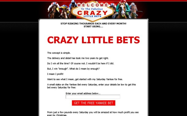 CRAZY LITTLE BETS Review - What are the Benefits?