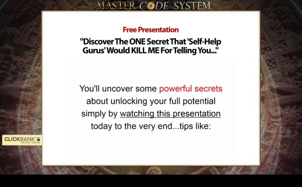Master Code System Review - It Is Effective? Read Before You Buy!