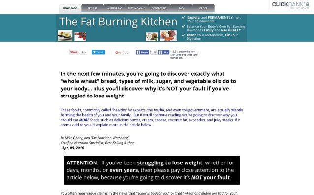 The Fat Burning Kitchen Honest Review - Get the Facts!