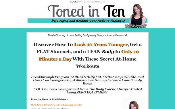 Toned In Ten Review: The Pros & Cons