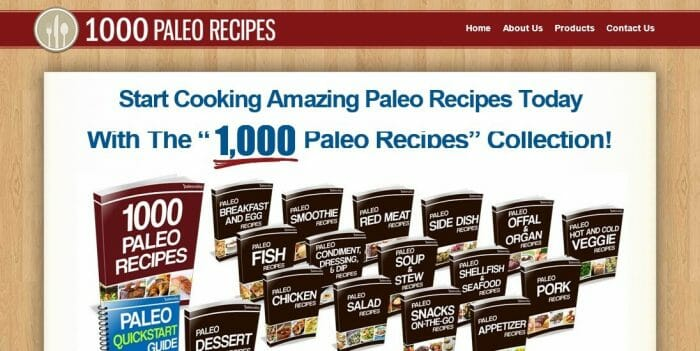 1000 Paleo Recipes Review - Does it Really Work?