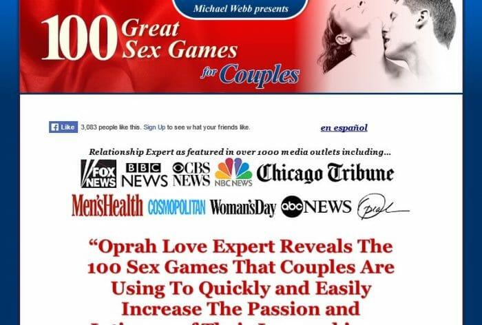 100 Great Sex Games For Couples Review - It's Really Good?