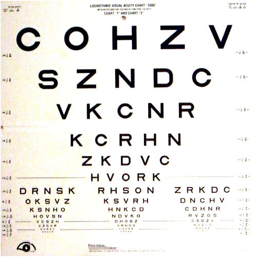visual acuity photo