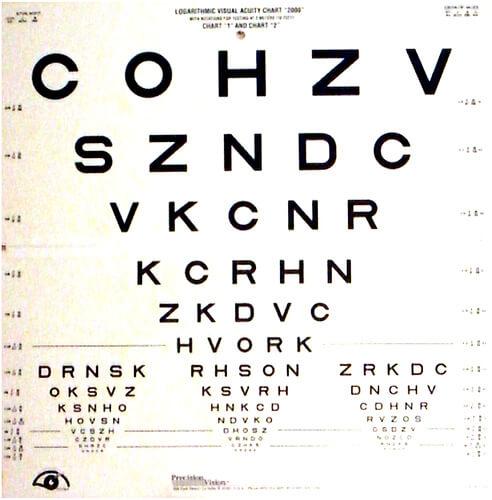 visual acuity photo