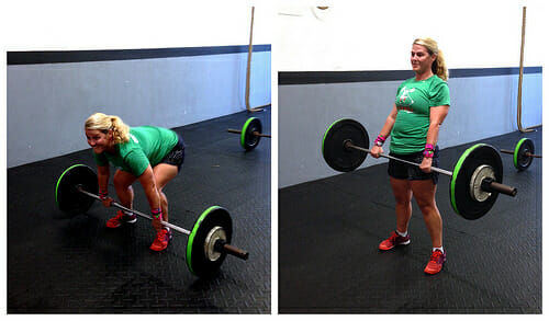 deadlifting photo