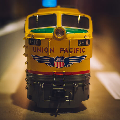 model train photo