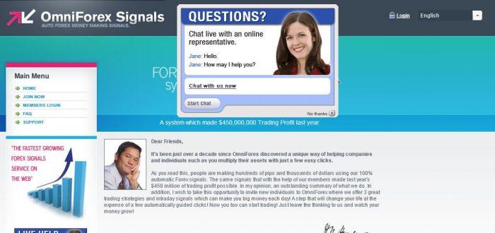 Omniforex signals review