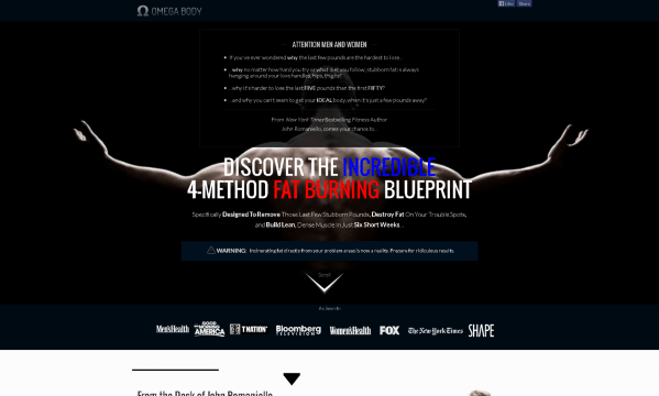 Omega Body Blueprint by John Romaniello Review: The Truth Revealed!