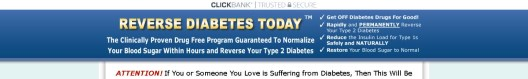 Get Reverse Diabetes Today