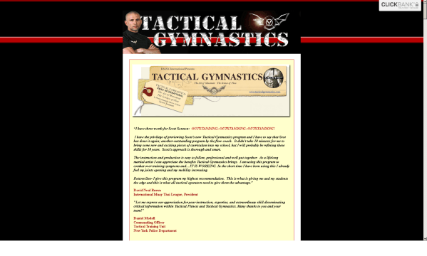 Tactical Gymnastics by Scott Sonnon Review - What are the Benefits?