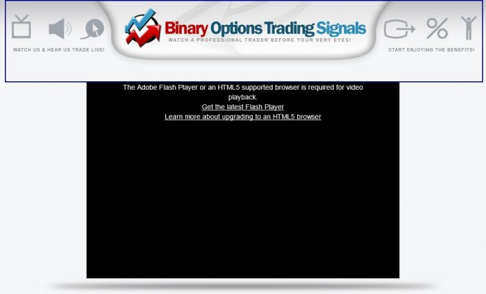 Binary Options Trading Signals Review - Does it Really Work?