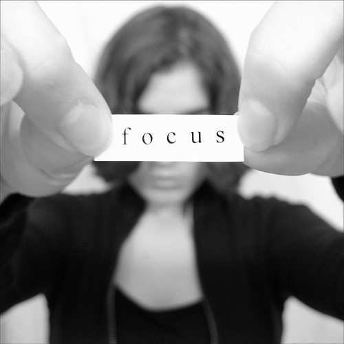 focus photo