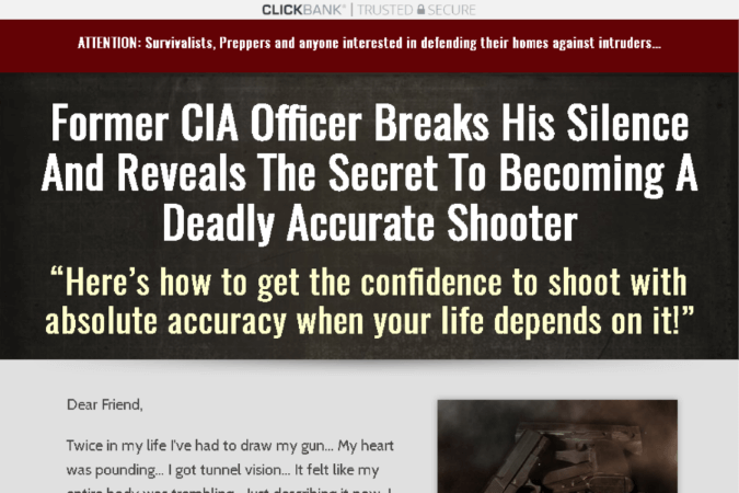 30 Day Sharp Shooter Site