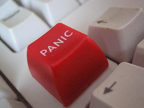 panic photo