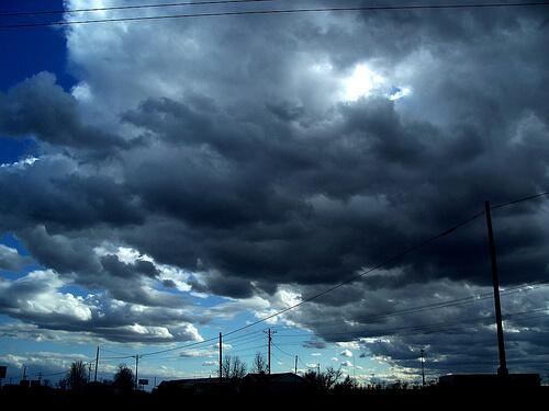 dark clouds 2 photo