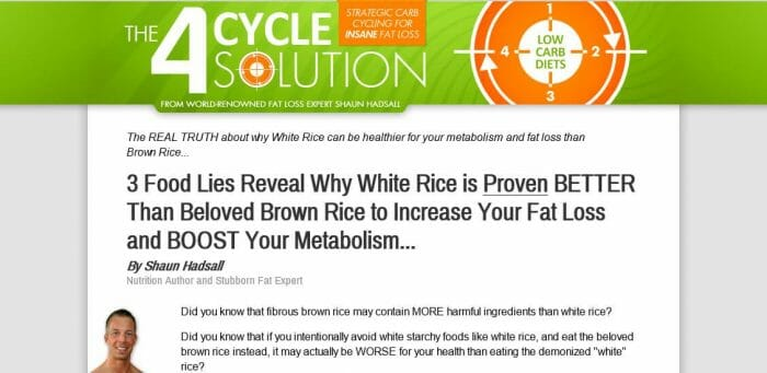 4 Cycle Fat Loss Solution Review - It Is Effective?