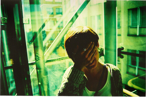 shy photo