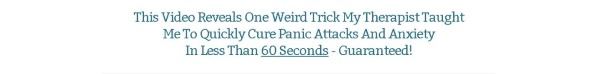 Get 60 Second Panic Solution