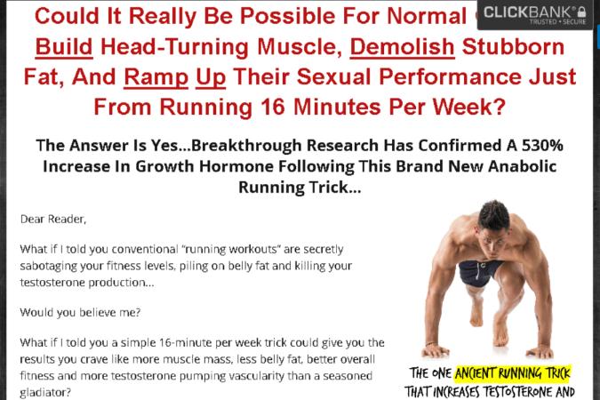 Anabolic Running Site