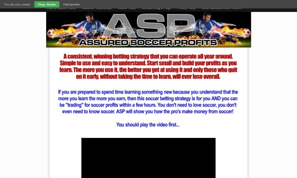 Assured Soccer Profits Review - It's Really Good?