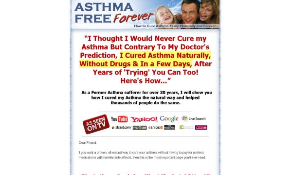 Asthma Free Forever Review: Read Before Buying