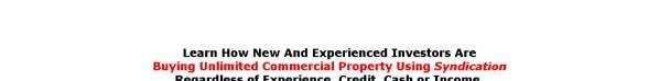 Get Austin Davis Commercial Real Estate Investor Training