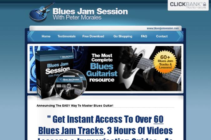 Blues Jam Session Site