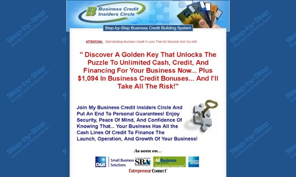 Business Credit Insiders Circle Review