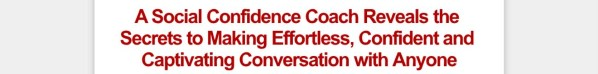 Get Conversation Confidence