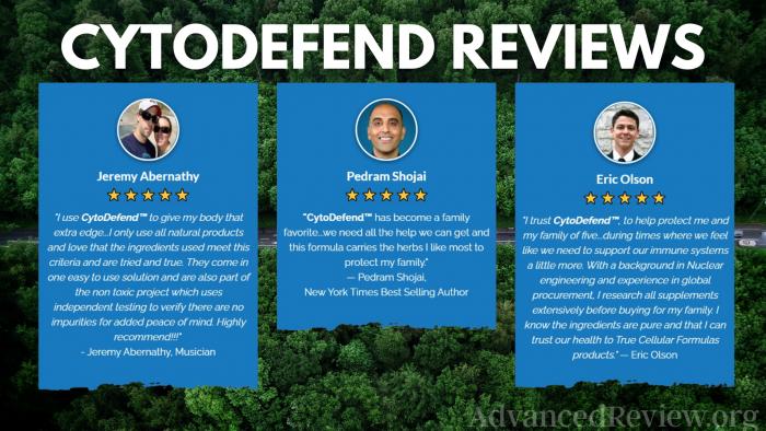 Cytodefend Ingredients