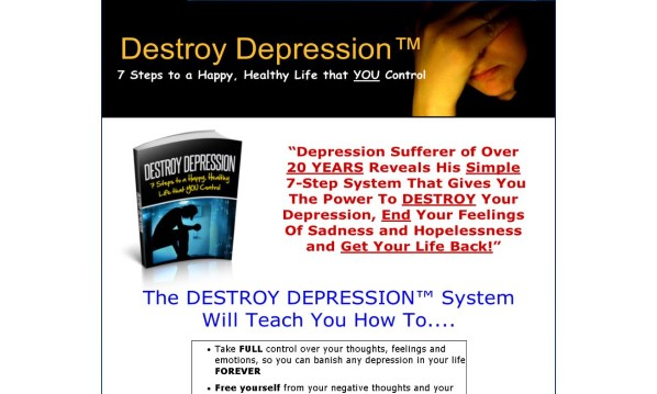 Destroy Depression Review - It's Really Good?