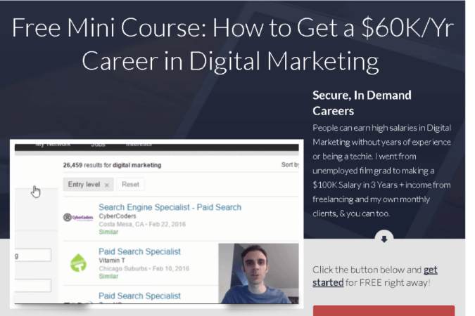 Digital Marketing Career Blueprint Site