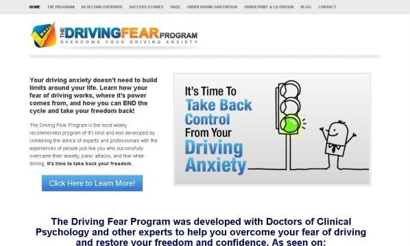 Driving Fear Program Review
