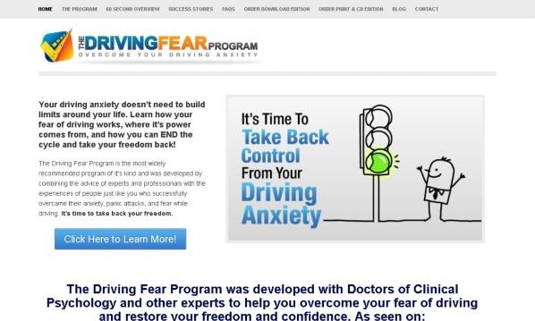 Driving Fear Program 1