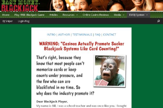 Easy Money Blackjack Site