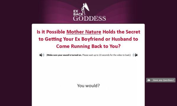 Ex Back Goddess Honest Review