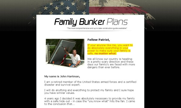 Family Bunker Plans Review - What are the Benefits?