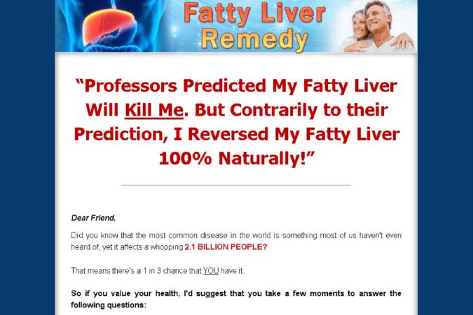 Fatty Liver Remedy Site