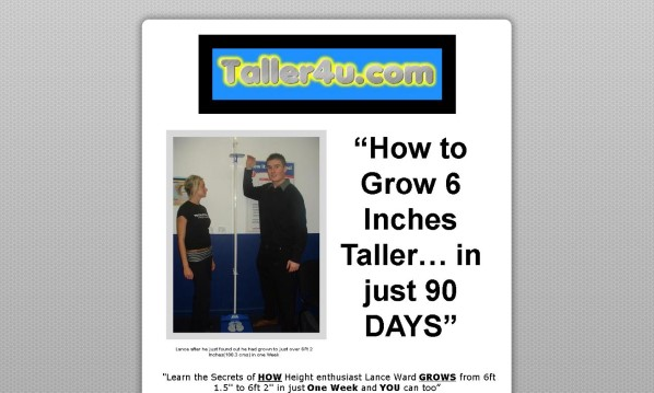 Grow 6 Inches Taller In 90 Days Review: What You Should Know Before Buying