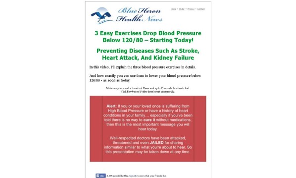 High Blood Pressure Exercises No Hype Review - Get the Facts!