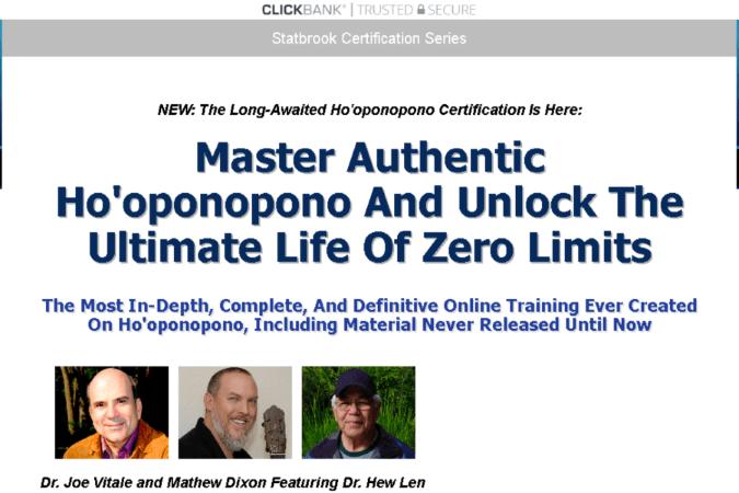 Ho'oponopono Certification Site