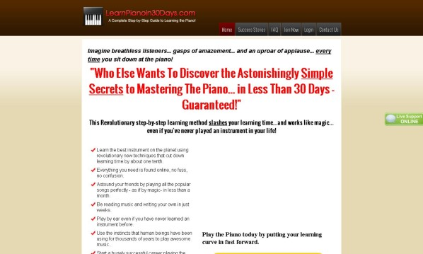 Learn Piano in 30 Days Review - Does it Really Work?