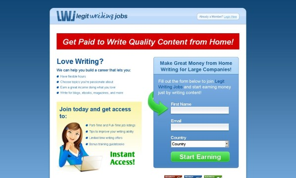 Legit Writing Jobs Review - It's Really Good?