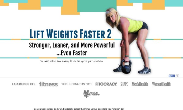 Lift Weights Faster Review - It Is Effective?