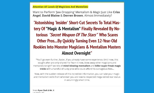 Master Mentalism Review - It Is Effective?