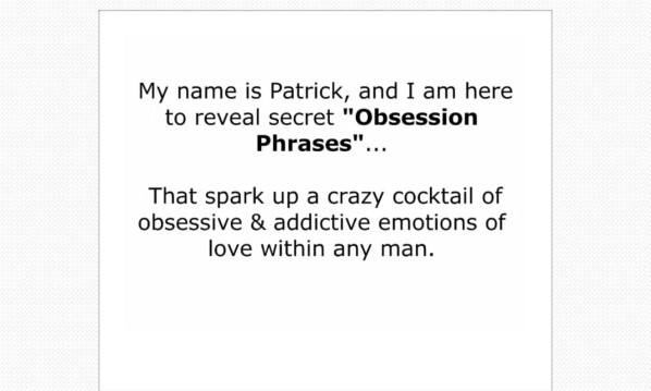 Obsession Phrases Review: The Truth Revealed!