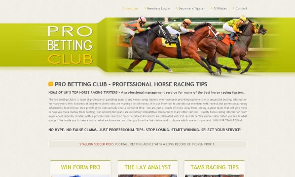 Pro Betting Club Review: Read Before Buying