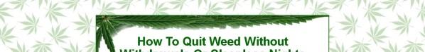 Get Quit Marijuana