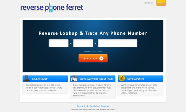 Reverse Phone Ferret Review - Does it Really Work?