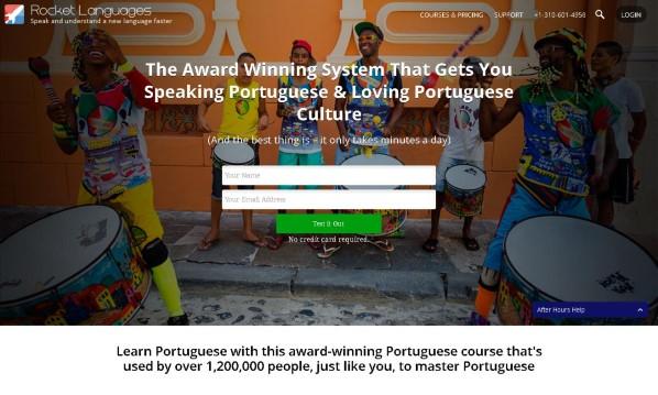 Rocket Portuguese